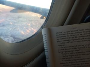Og i fly over Skagerrak